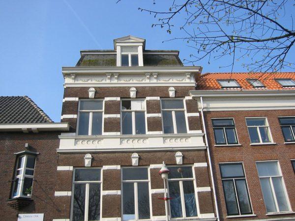 Oude situatie gevel De Zwarte Weg Den Haag