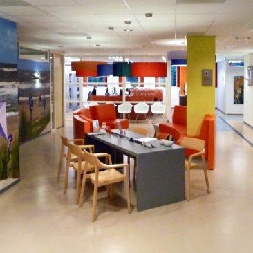 Interieur nieuwe situatie Bronovo ziekenhuis
