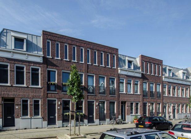 Gevel Bergstraat Rotterdam