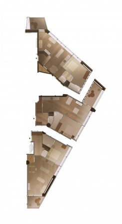 Neudeflat Sfeerplattegrond verdieping