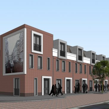 Van Dyckstraat DenHaag Nieuwbouw
