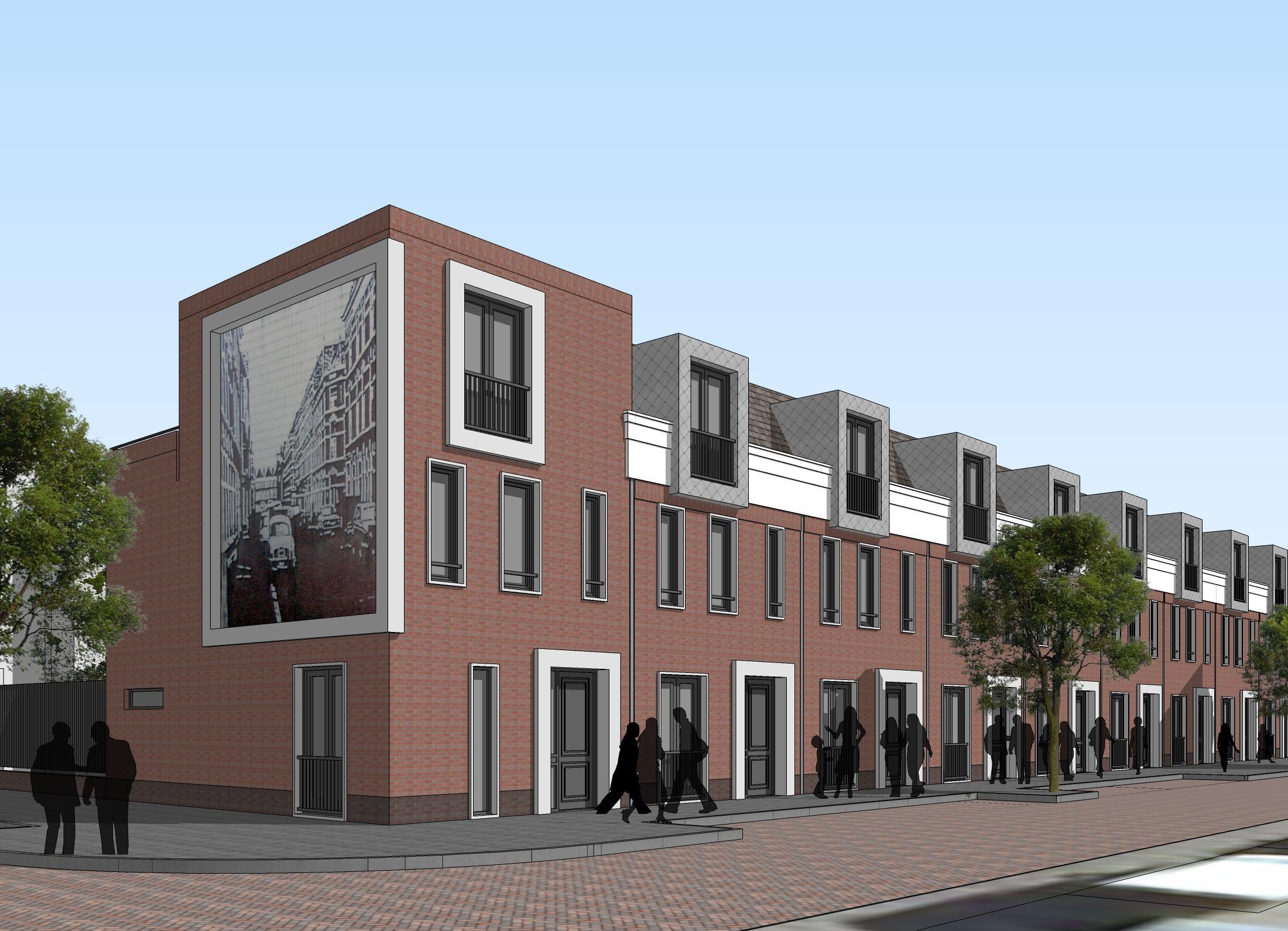 Van dyckstraat a3 architecten for Nieuwbouw den haag