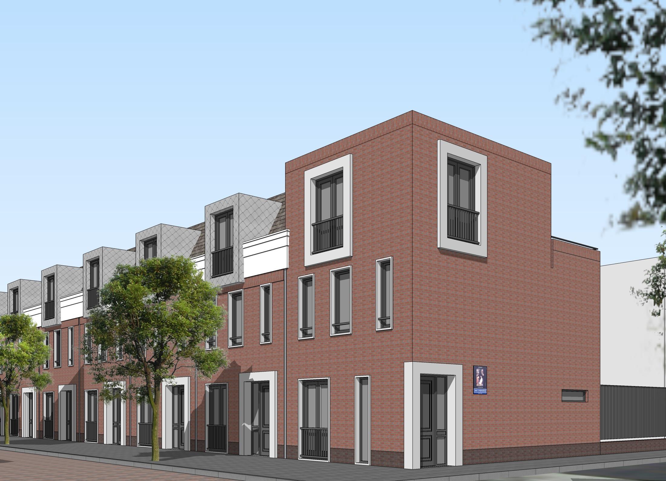 Van dyckstraat a3 architecten for Haag wonen koopwoningen