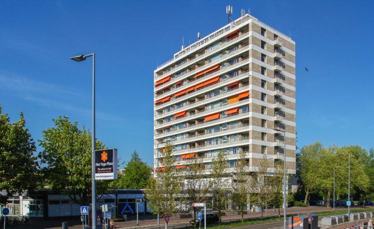 Nieuwe situatie Olympusflat in Rotterdam
