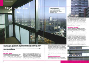 Publicatie Piazzaflat in NBD Magazine 2011