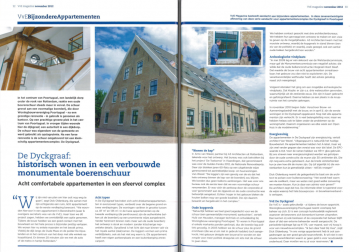 Publicatie De Dyckgraaf in VvE Magazine November 2012