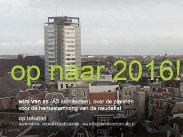 Presentatie Neudeflat in het Architectencafé Utrecht