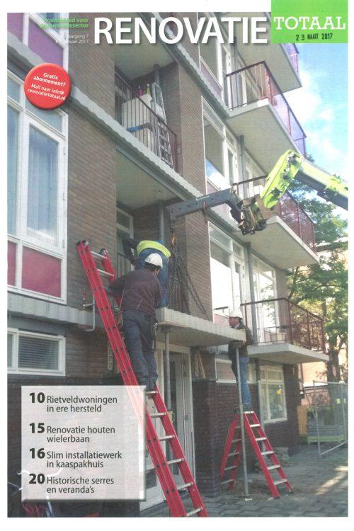 Rietveldwoningen publicatie in Renovatie Totaal