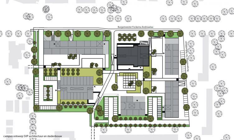 Plankaart van het project De Kwekerij