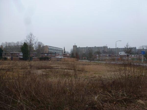 Bestaande situatie kavel van project Patersweg Oud-Krispijn Dordrecht