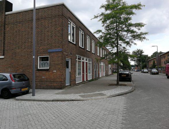 Bestaande situatie van het project Raamsdonk in Pendrecht, Rotterdam.