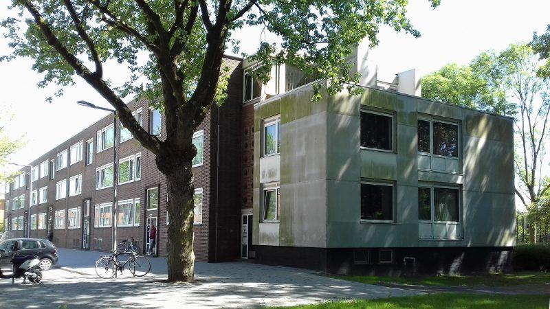 Bestaande situatie van het project Geertruiden - Wagenstraat in Pendrecht, Rotterdam.