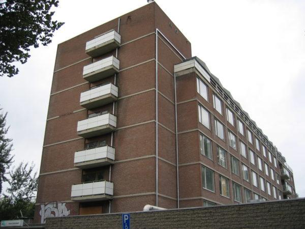 het gebouw voor transformatie