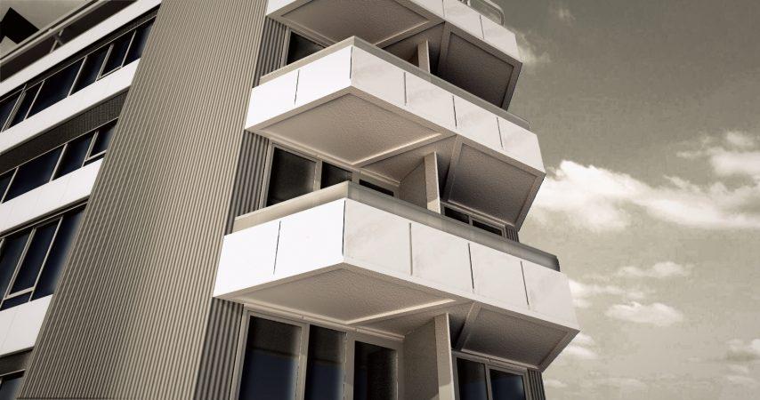 Neudeflat Utrecht balkon