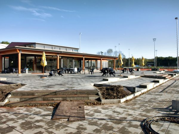 Clubgebouw Tennisvereniging Schenkel