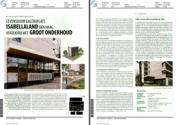 Publicatie Isabellaland in Stedenbouw April 2013