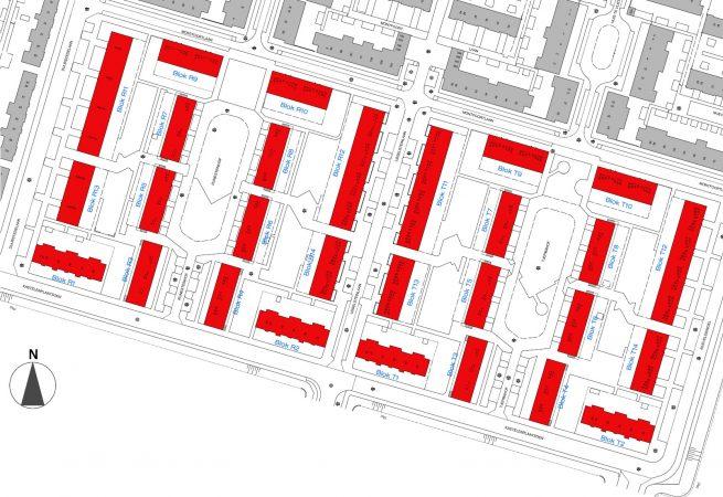 Rietveld woningen Utrecht renovatie situatie