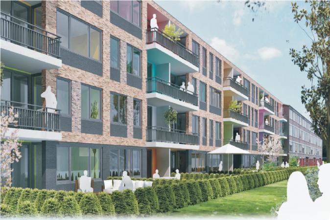 Impressie Project nieuwbouw Mendelweg