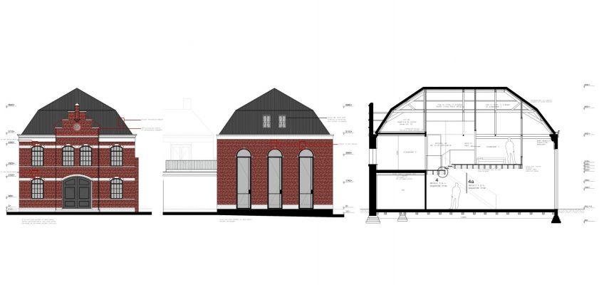 Rijksmonument kerkgebouw Bethel te Willemstad